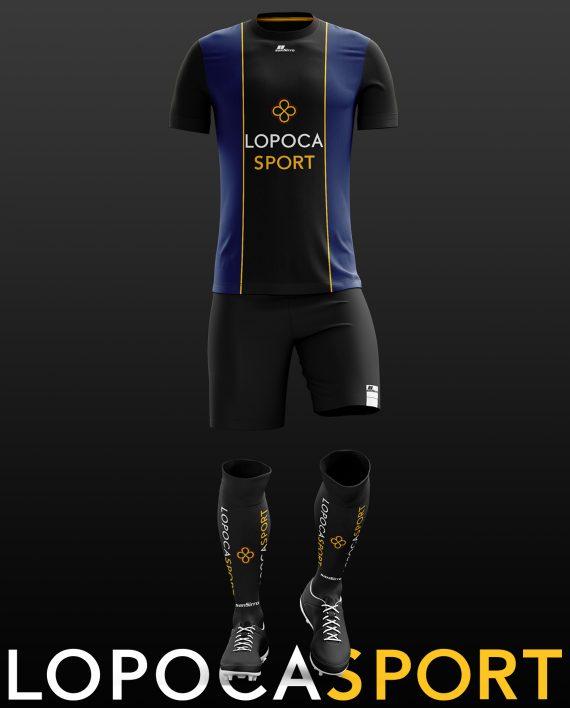 Fußballdress_Lopoca_Blau