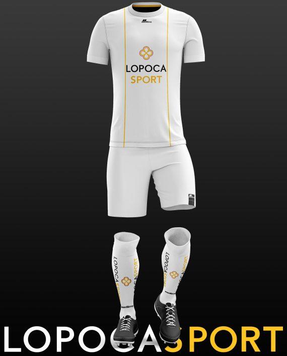 Fußballdress_Lopoca_Weiß