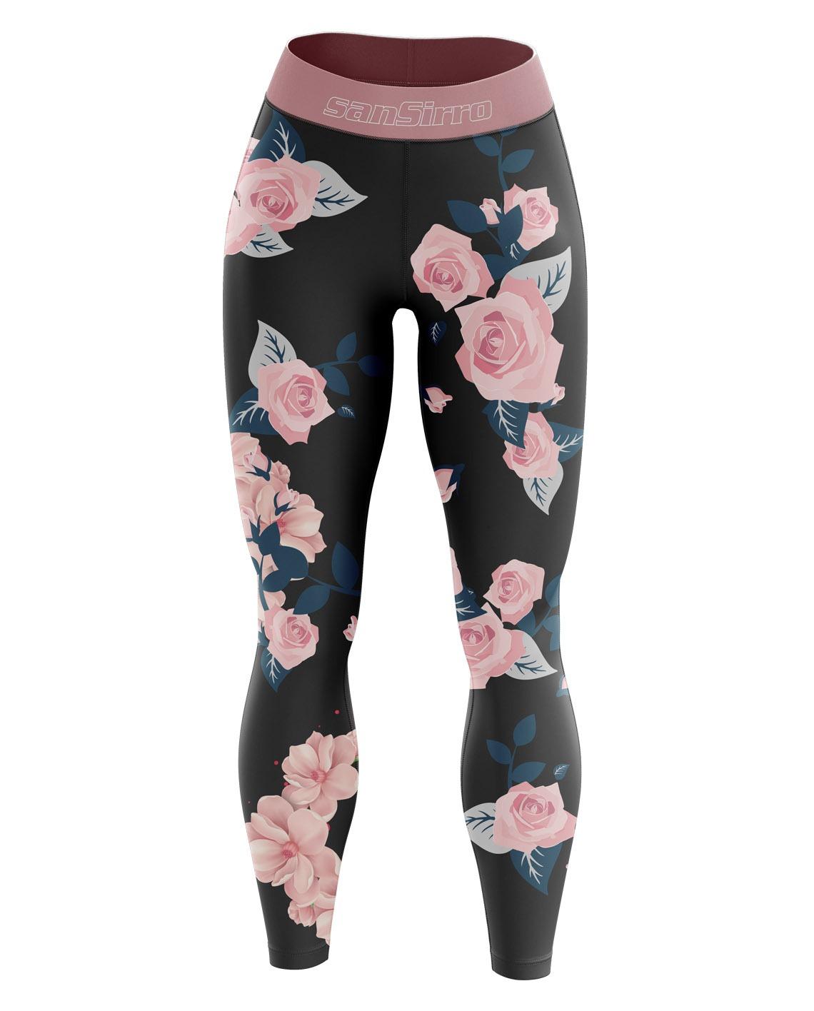 Fitness Leggings Damen Blickdicht: Leggings • SanSirro Online Shop