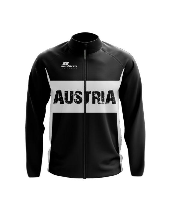 Österreich_SoftshellJacke_Vorne_schwarz