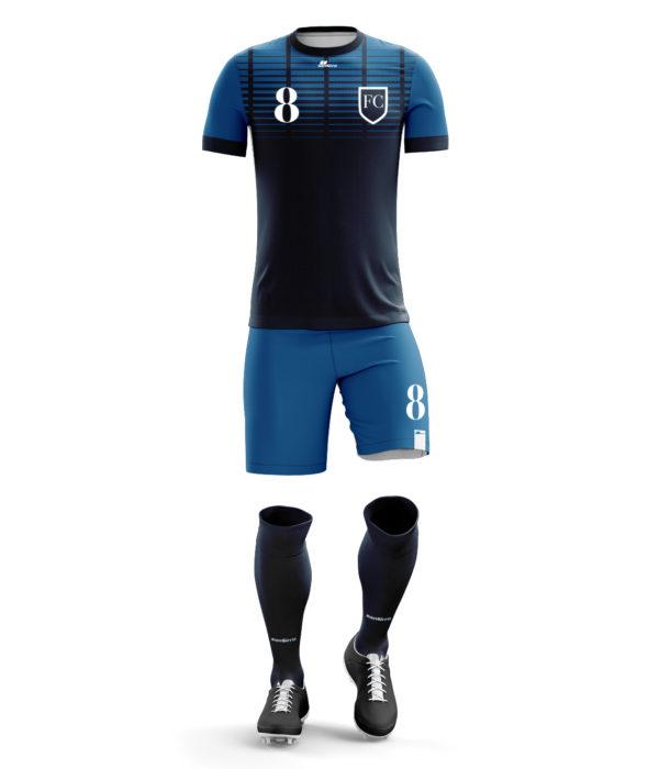 sanSirro_Fußballdress_Neuzugang_Blau